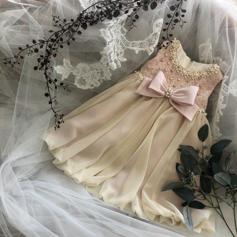 家族衣裳 子供ドレス 結婚式