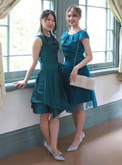 ゲストドレス 家族衣裳 結婚式
