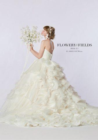 【新作ドレス】花びらに想いをのせて。葉菜桜花子「FLOWERY FIELDS」の花言葉ドレスにきゅん♡