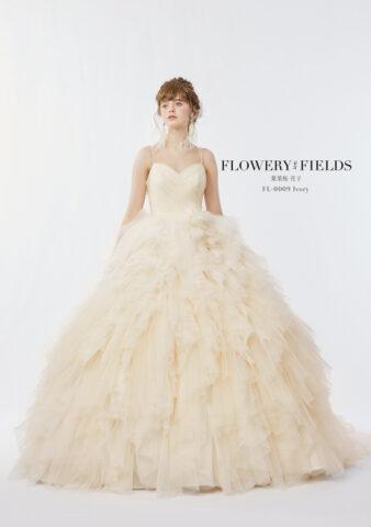 花菜桜花子 新作ドレス 花言葉ドレス かわいい 結婚式 ビアンベール本店