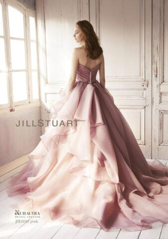 ジルスチュアート 新作ドレス かわいい 結婚式 ビアンベール本店