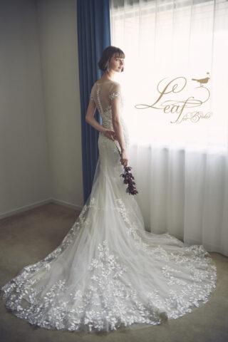 【新作ドレス試着イベント】花嫁心を知り尽くしたデザインにメロメロ♡「どこにでもありそうで どこにもない」 Leaf for Brides の新作ドレスが超おしゃれ!