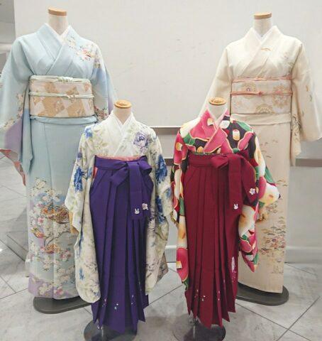 \卒園式の衣裳で困っているママさん!/ビアンベールでは   お子様のお着物・袴とお母様の訪問着のご準備がございます♡