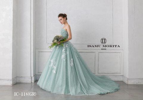 【新作ドレス】世界最高峰の美しさ「ISAMU MORITA (イサムモリタ)」の新作が宝石級のきらめき♡