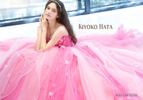 【新作】花嫁様に大人気♡KIYOKO HATAカラードレスが入荷