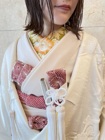 ビアンベール 白無垢 花嫁和装 和装