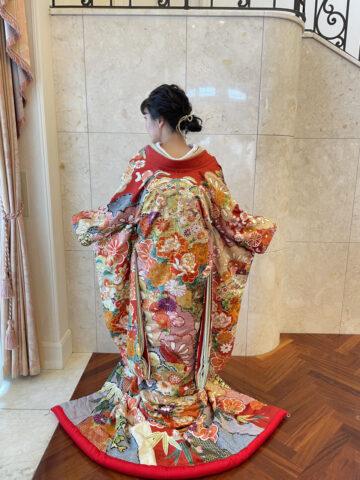 ビアンベール 色打掛 花嫁和装 和装