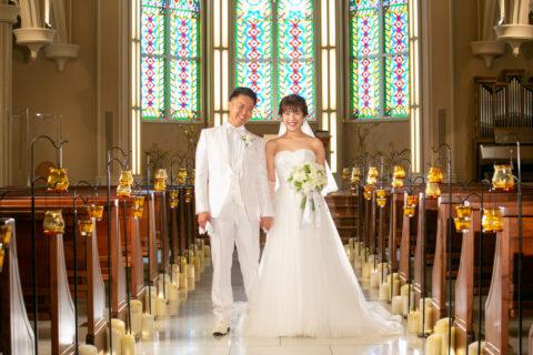 ビアンベール本店 パーソナルカラー ウエディングドレス