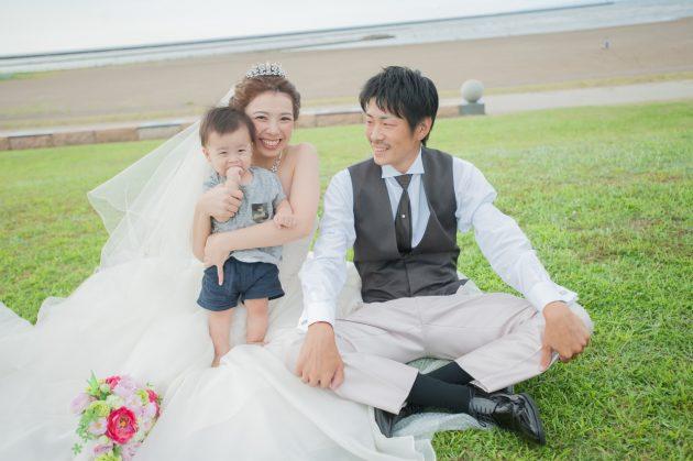 パパママ婚だからこそ楽しめる*お子様とのステキな思い出になる写真まとめ