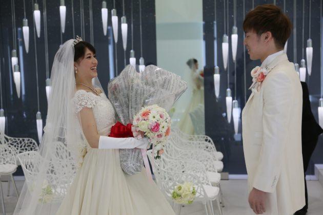 結婚式当日をもっと感動的にする♥新郎新婦だけで行うのはもったいない!ファーストミートのススメ