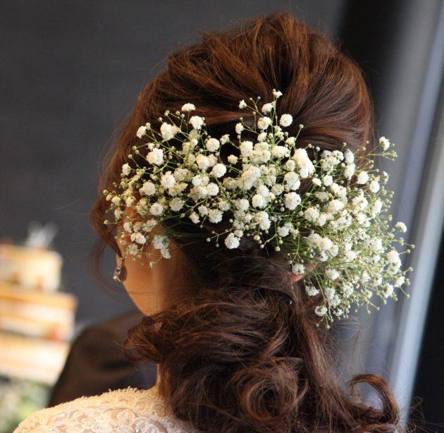 【先輩花嫁に学ぶ!】パーティー入場前にひと工夫加えるだけで全くちがうスタイルを楽しめます♥
