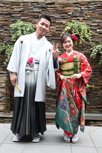 自前振袖を花嫁仕様に変身♥和装コーディネートを楽しみましょう!