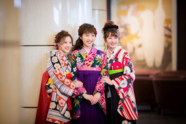 卒業式&入学式のお着物は、ビアンベールにお任せ下さい!!