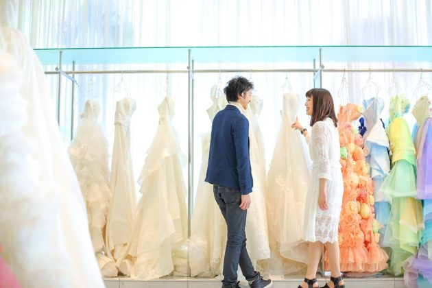 【ウエディングドレスがなかなか決められない!】ドレス選びのポイントお教えします!