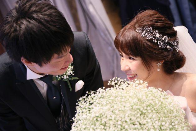 ウェディングドレスで絶対持ちたい♥白いお花のブーケ特集*