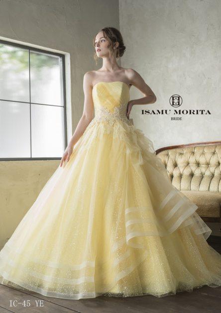 大人気♡イサムモリタより新作カラードレスが入りました!☆