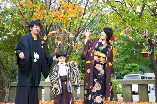 夏に行う七五三はメリットいっぱい♡ビアンベールは一年中、七五三衣裳を受け付けています*