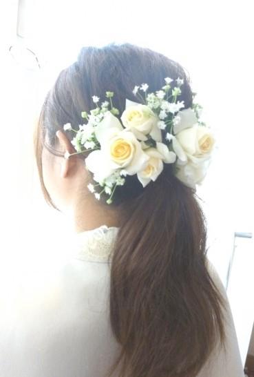 ブライダル♥ヘアスタイルはもう決まりましたか((*´ε` *))?