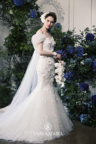 女性の美しさを追求して創り上げられたウエディングドレス〝YUMI KATSURA〟