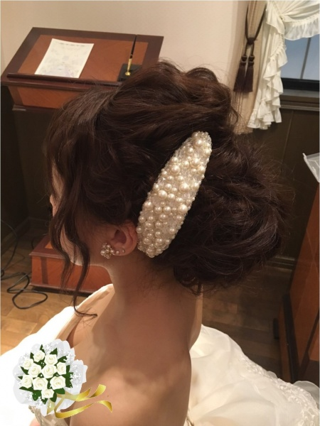 【劇的に変化!】挙式から披露宴入場でガラリと変わるヘアアレンジ♥