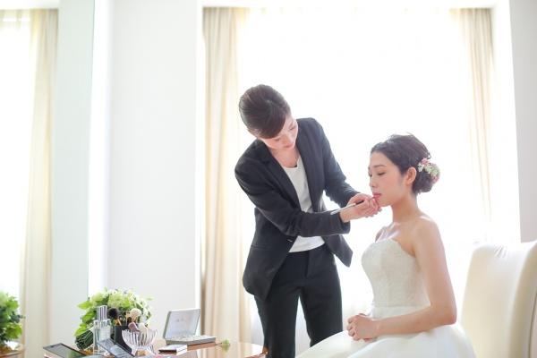 ミディアムヘアの花嫁様へ♥
