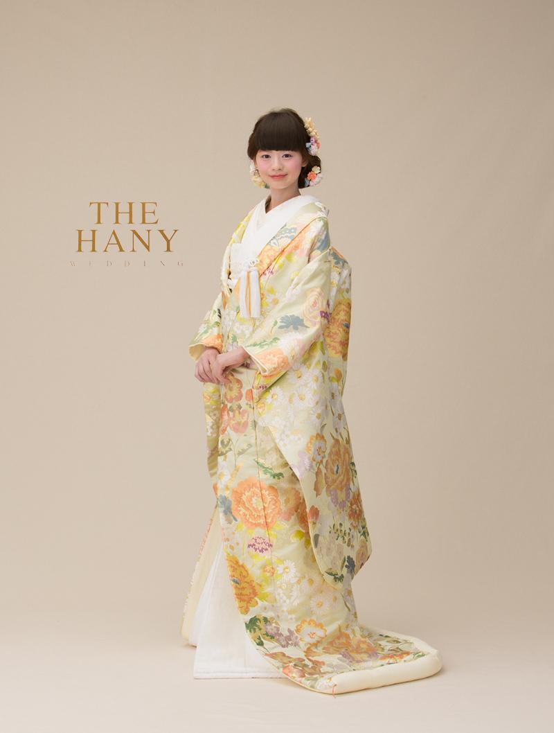 """【オシャレ花嫁は知ってる!】""""THE HANY""""から待望の色打掛が登場♥"""