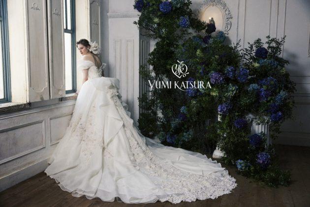 【運命の一着になる!?】ユミカツラのウェディングドレスのご紹介♥