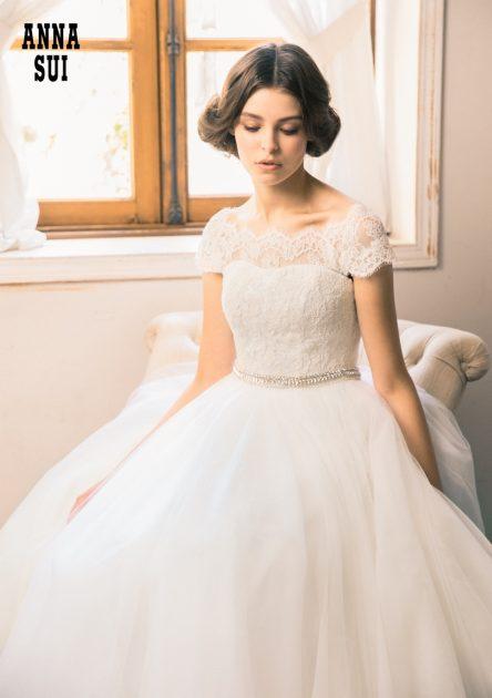 【オシャレ花嫁必見ドレス!】大人気ブランド~アナスイ~の新作ドレスのご紹介♥
