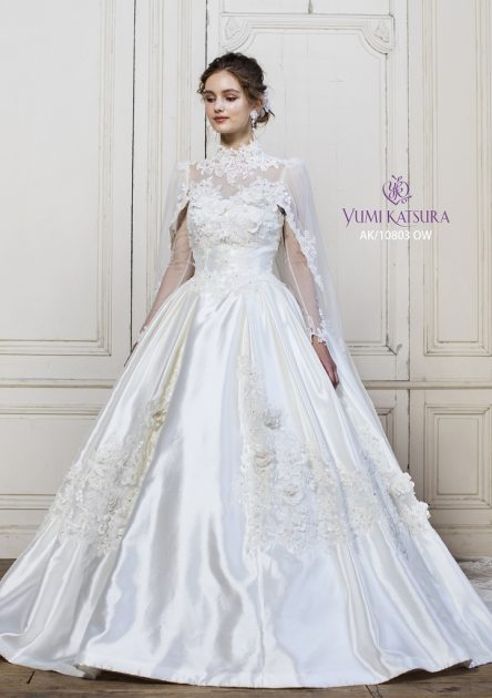【ロイヤルウェディングにおすすめ】 YUMI KATSURA~ユミカツラ~のドレスでワンランク上の花嫁に♥