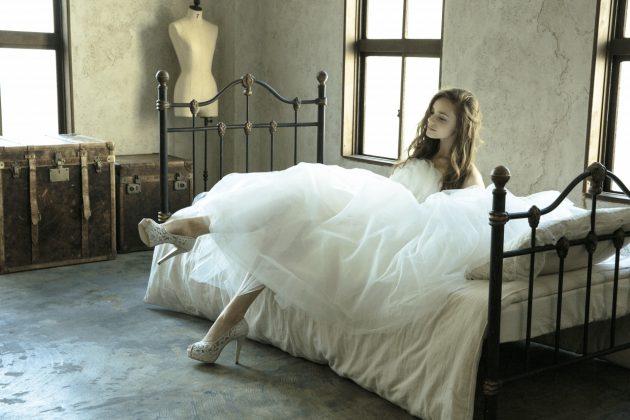 """【人生の新しい一歩を踏み出す!】花嫁様の為のウェディングシューズ""""melia~メリア~""""をご存知ですか?"""