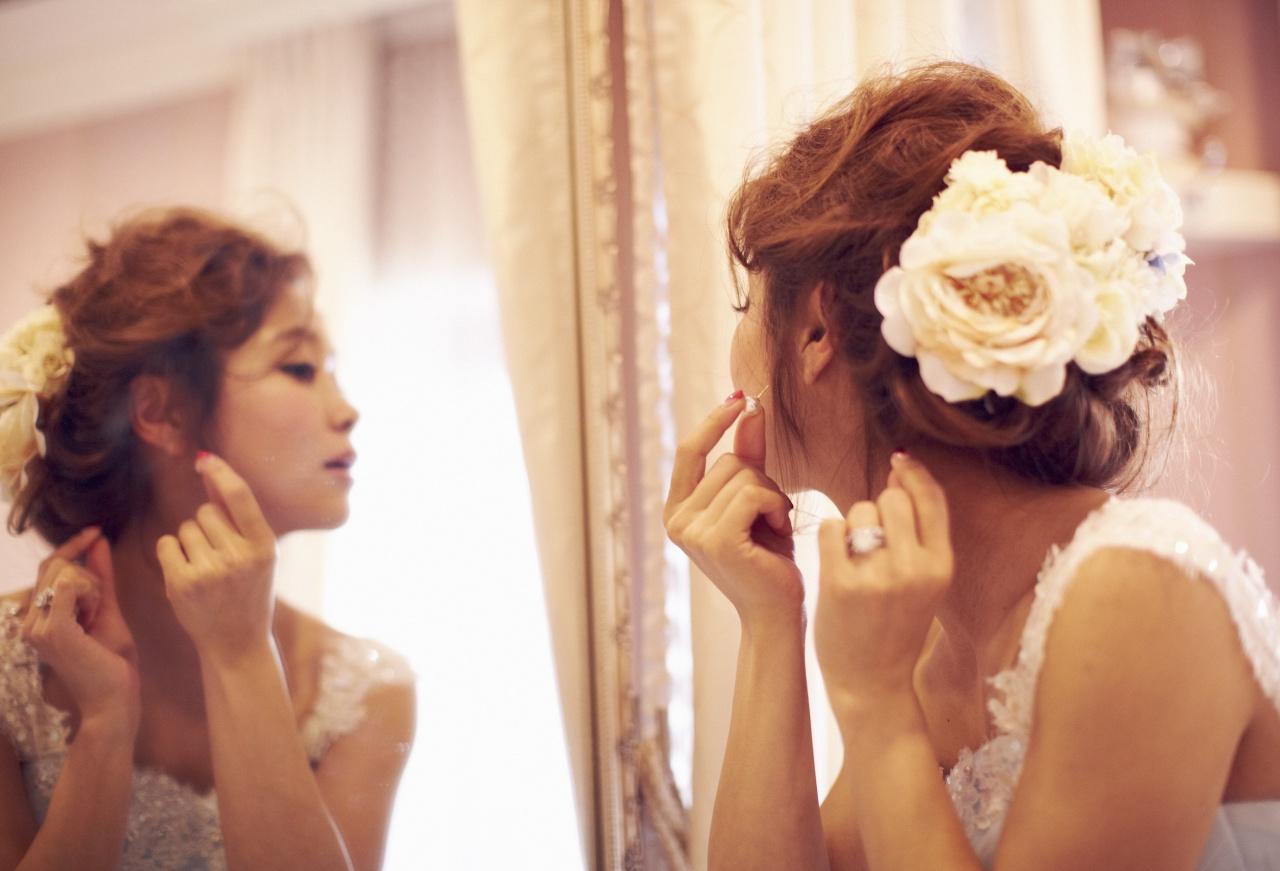 世界で一番かわいい花嫁になれる】大人気レインボードレス   スタッフ