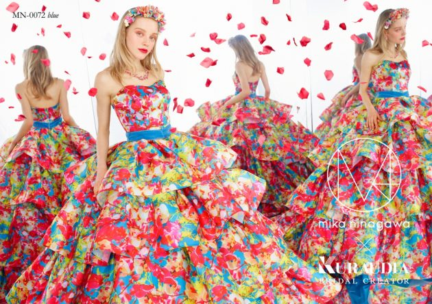 【お色直し入場は最大の見せ場!】インパクト大の新作ドレスでゲストを驚かせよう!