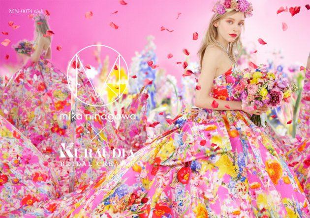 """【一度は試して!】人気の""""M / mika ninagawa""""からフラワープリントドレスが登場✿"""