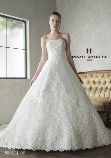 【切ないほどに美しい花嫁】ISAMU MORITA BRIDE~イサム モリタ~の新作ドレス☆