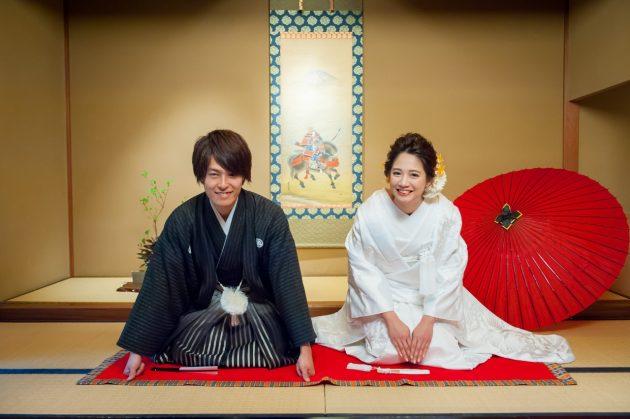 花嫁姿には外せない!日本の伝統ある和装でフォトウエディング!