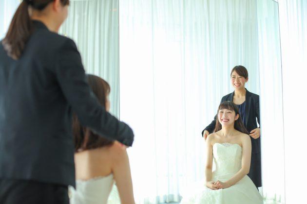 プレ花嫁様必見!ドレス試着からの【フォトブース撮影体験】で素敵な思い出を♥