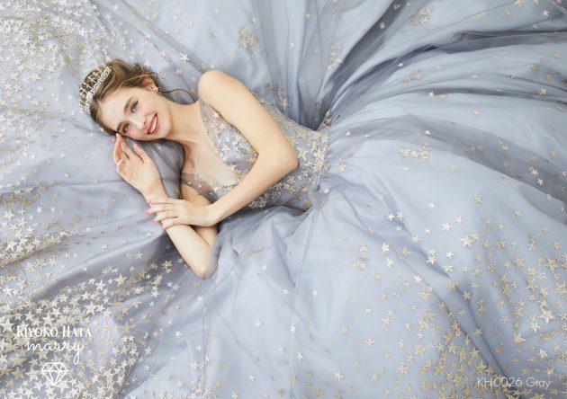 【SNSで話題の#スタードレス】新作カラードレスのご紹介♥