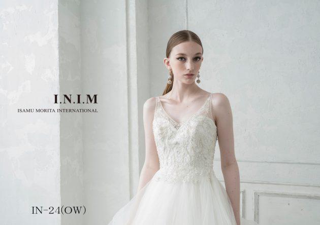 """【切ないほどの美しさ】""""ISAMU MORITA BRIDE~イサムモリタブライド~""""新作ドレスのご紹介♪"""