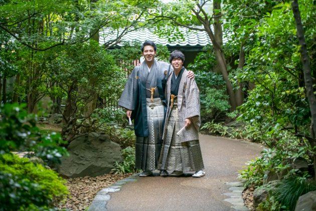 成人式はコダワリの«紋付袴»でハタチのお祝いをしませんか?