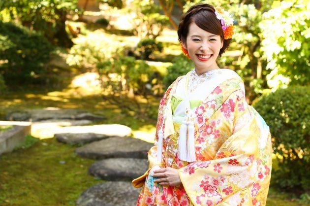 お祝いの日を華やかに彩る【和装髪飾り】