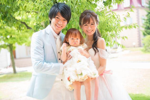 【結婚式のおよばれ】お子さんもオシャレをしてステキな1日に♪