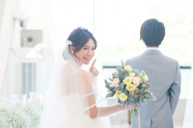 【長岡ベルナール結婚式場での撮影が可能♡】大好評のフォトウエディング