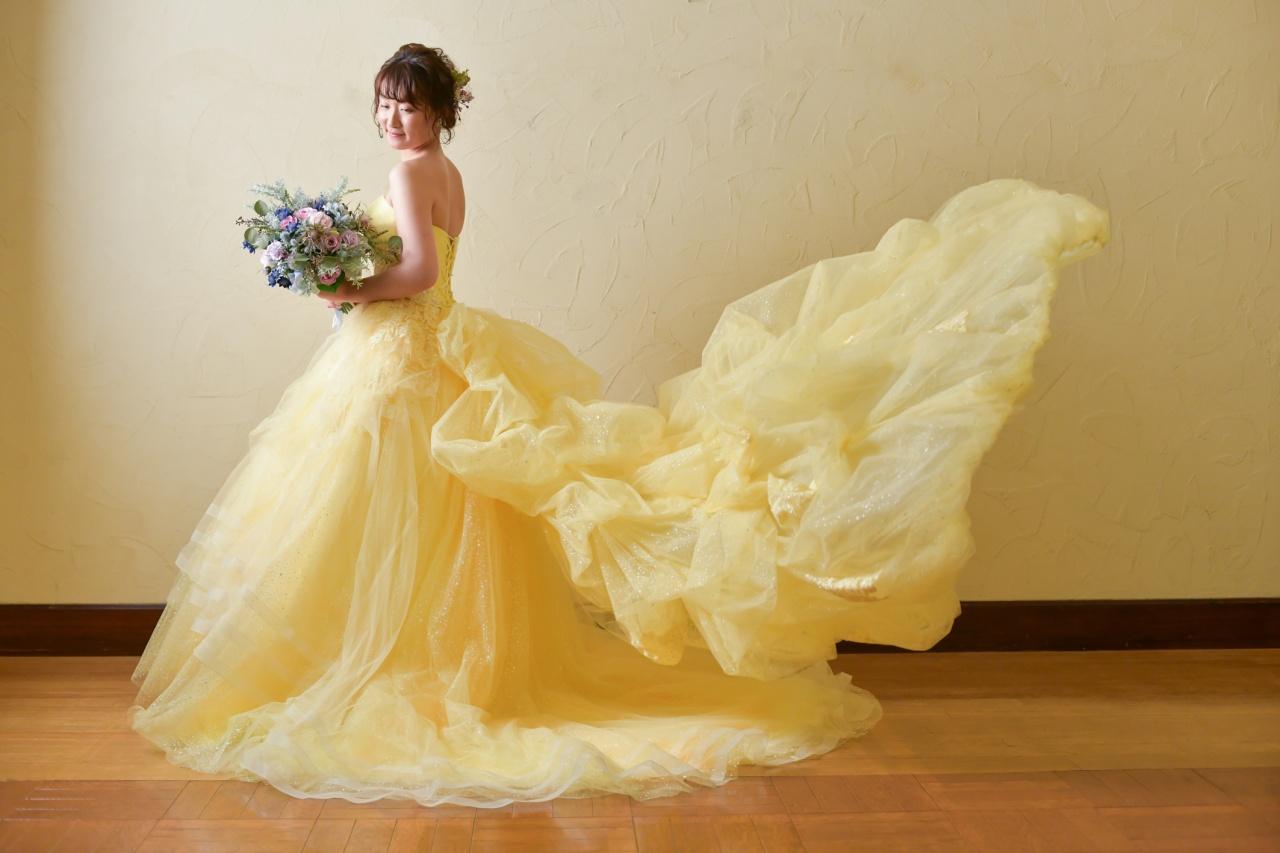 ドレスに華を添えるブーケ♪コーディネイトのオススメ♡