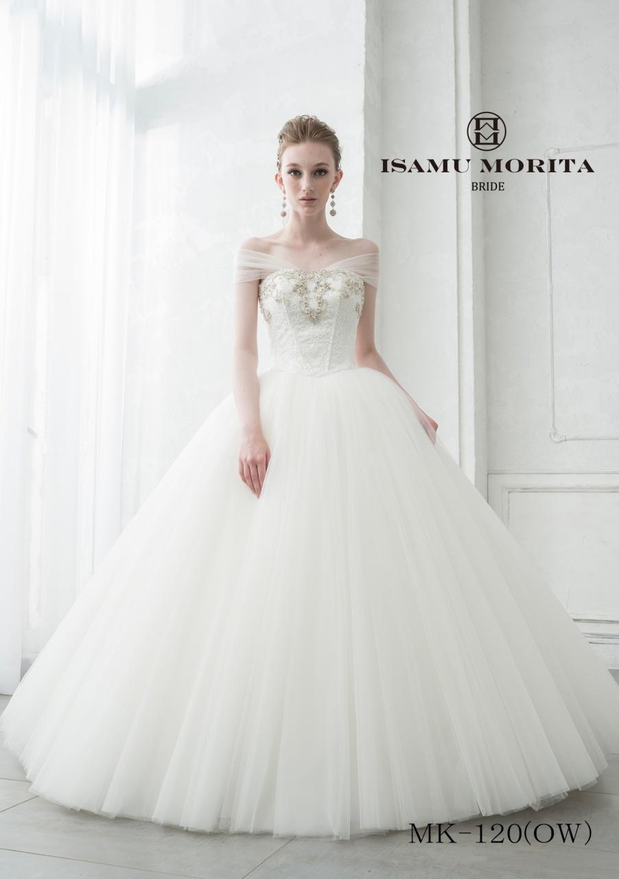 花嫁に大人気☆イサムモリタのウェディングドレス