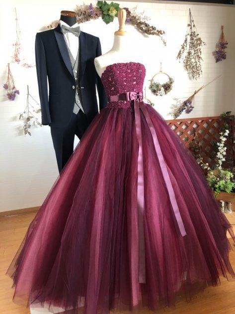 おしゃれ花嫁に人気♪ビアンベールスタッフオススメのカラードレスをご紹介いたします!