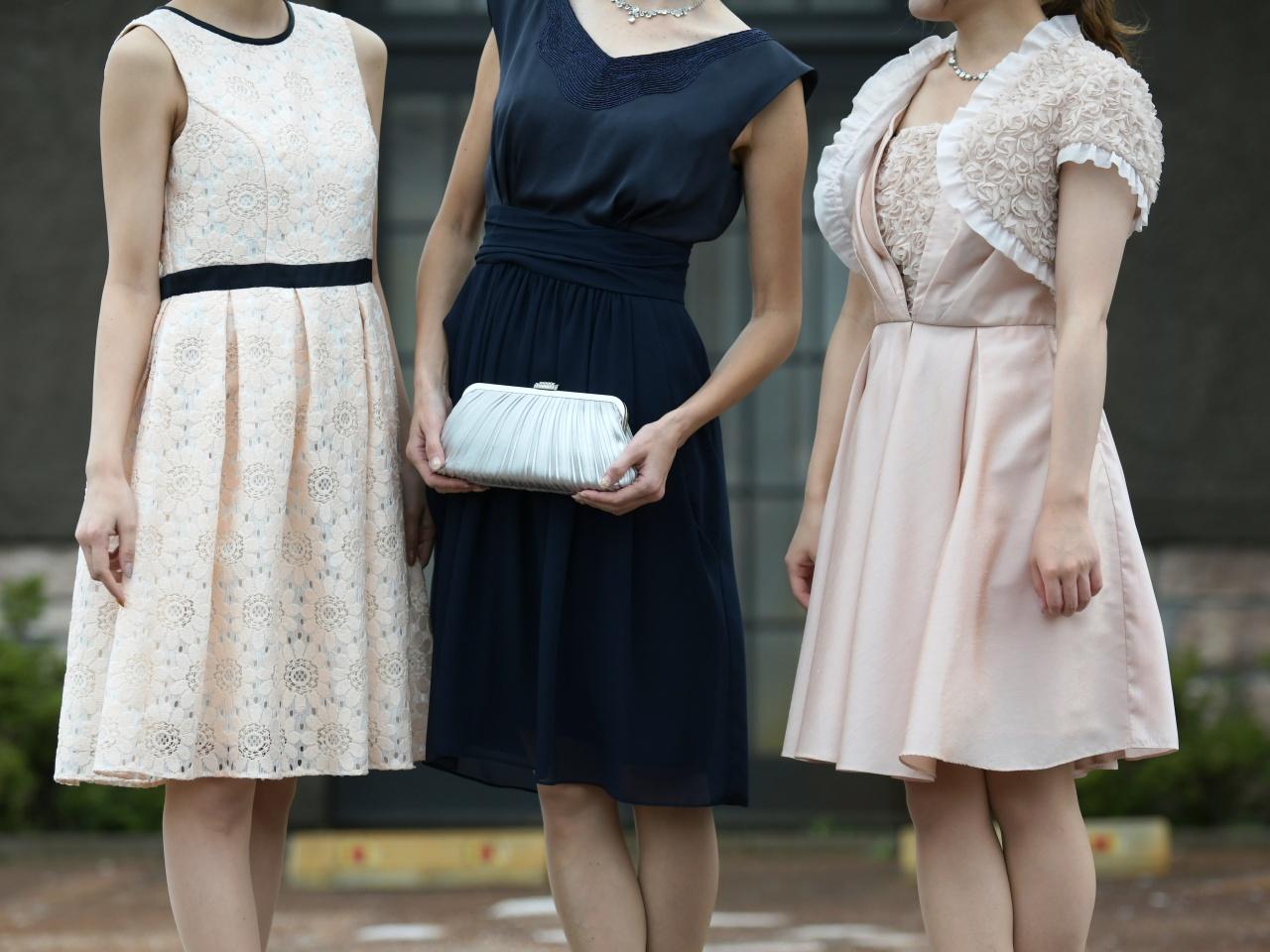 成人式の二次会、卒業式の謝恩会、夏の成人式ドレスに。 振袖・卒業式衣裳はもちろん、パーティードレスもビアンベールへ!