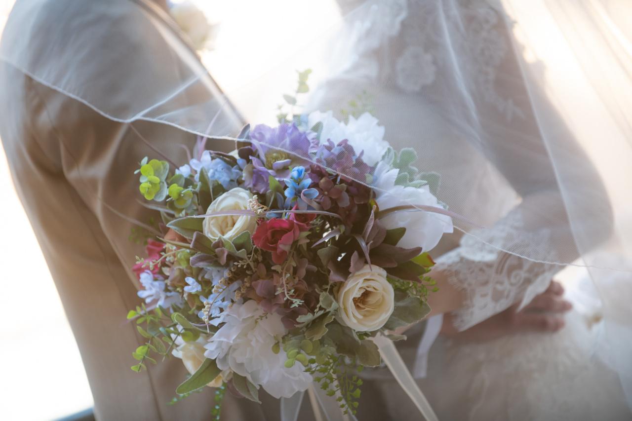 持込料ご負担!アークベル式場以外の花嫁様も安心サポート!ビアンベールでお気に入りの1着を♡