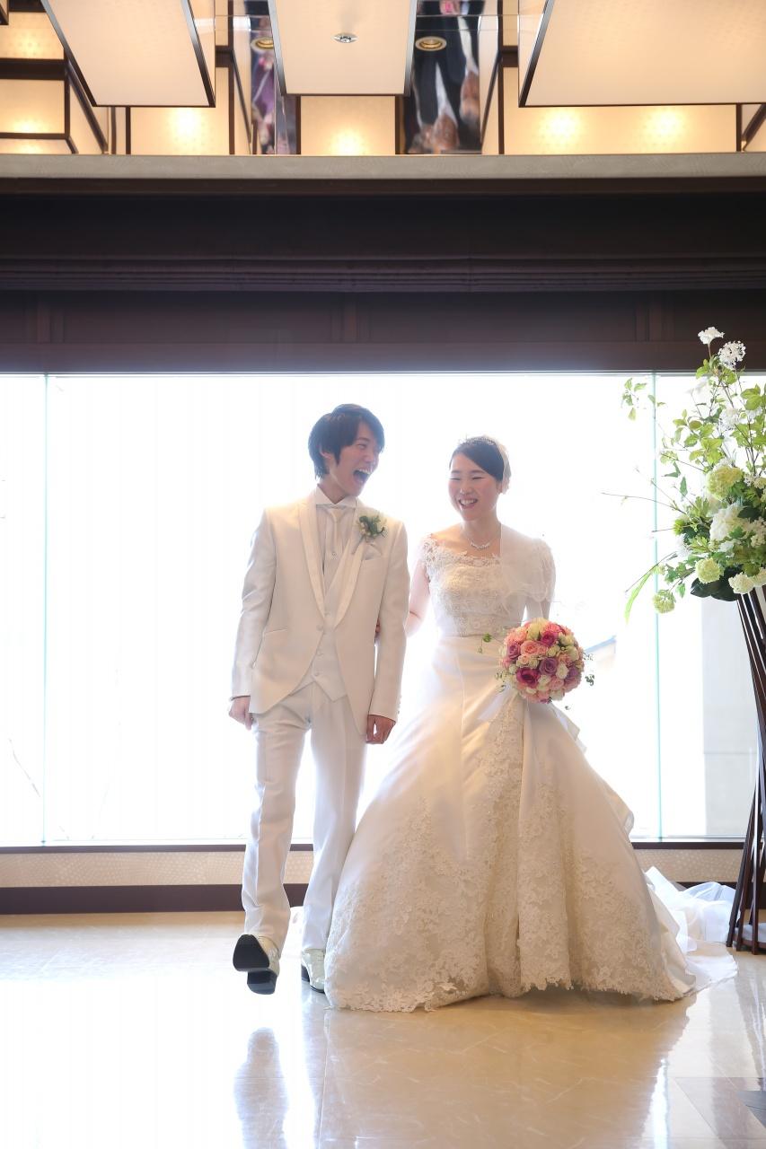 【実例】「ホテル泉慶・華鳳」でご結婚式を挙げたお二人のとびっきりの笑顔をご紹介します♡