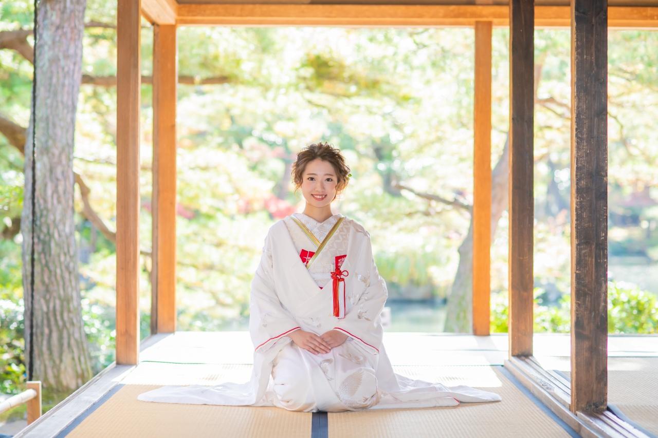 【日本の伝統美】花嫁和装でフォトウエディングをしませんか