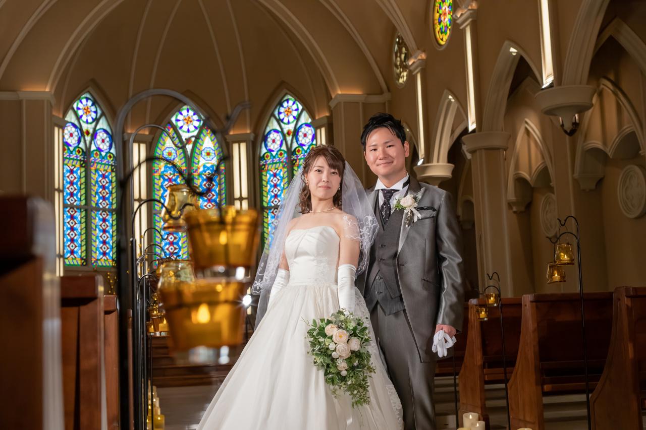 【大人気】憧れの結婚式場で撮影ができるフォトウェディング